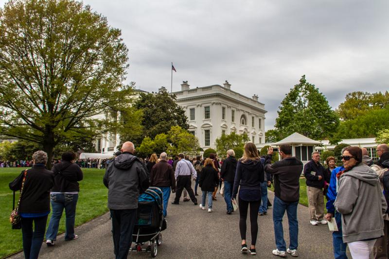 White House Garden Tour – April 25, 2015 – John Loggins